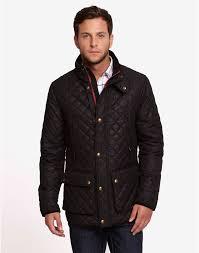 joules mens lockhart waxed biker style jacket black red rae