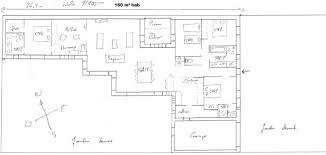 plan de maison plain pied 4 chambres maison plain pied 4 chambres trendy plan maison interieur plain