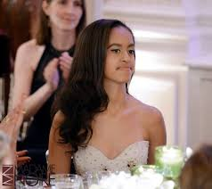 Obama First Family by Malia And Sasha Obama Attend Their First State Dinner Pics