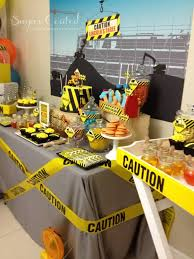 construction baby shower the construction site theme party via baby shower ideas and shops
