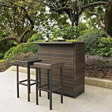 Bistro Patio Sets Outdoor Bar Patio Furniture Bistro Set Chair Coffee Table 3 Piece
