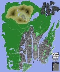 Las Vegas Neighborhood Map by Gta Mapmaking Page 46 Grand Theft Auto Series Gtaforums