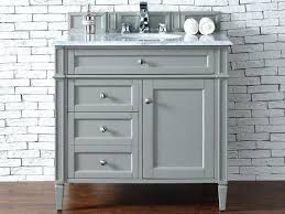 36 white vanity with carrera marble top bathroom lowes combo right