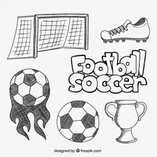 football sketch vectors photos and psd files free download