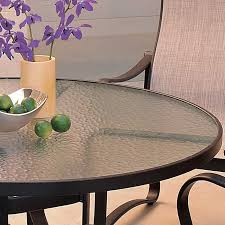 Patio Table Top 220 Thick X 48 Diameter Clear Plexiglass Patio Tabletop