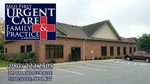 med first urgent care u0026 family practice of statesville walk ins