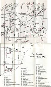 Map Of Michigan Cities by The Portable Laporte County C 1978 U2013 Michigan City Public Library