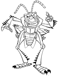 a bug u0027s life hopper scold a bug u0027s life coloring pages pinterest
