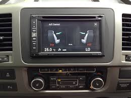 vw caravelle pioneer f960dab and rear camera install