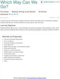 lesson plans for first grade social studies education com