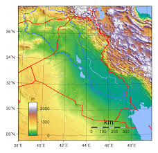 map of irak maps of iraq detailed map of iraq in tourist map of