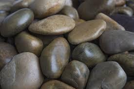 margo 30lb decorative pebbles river rocks colored