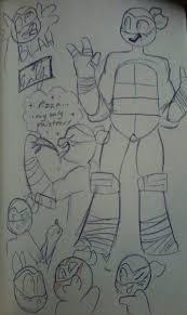 michelangelo sketch dump by emziefun on deviantart