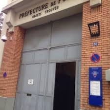 bureau des taxis 36 rue des morillons 75015 prefecture de service des objets trouves departments