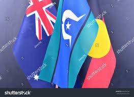 Indigenous Flags Of Australia Indigenous Australia Flags Stock Photo 442554538 Shutterstock