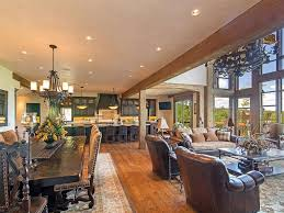 decorating open plan living dining room collection including ideas