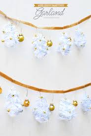 mini tree garland diy mami talks