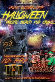 halloween events u2013 club crawl san diego