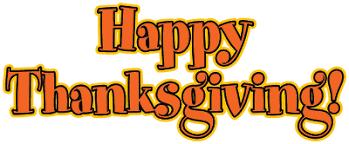 happy thanksgiving free clipart clipartandscrap