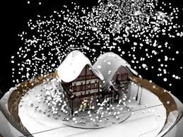 snow globe animation