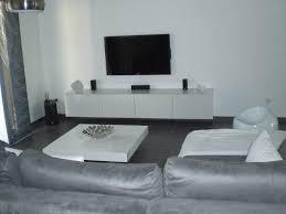 cuisine gris et best salon blanc et gris ideas amazing house design