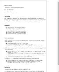 hvac resume exles entry level hvac resume sle shalomhouse us