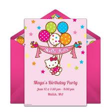 25 unique hello kitty birthday invitations ideas on pinterest