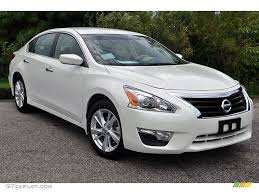 Pearl White 2013 Nissan Altima 2 5 Sv Exterior Photo 69936173