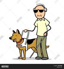Blind Man Cane Blind Old Man Cane Guide Dog Image U0026 Photo Bigstock