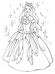 barbie thumbelina coloring pages princess barbie coloring pages free coloring pages printables