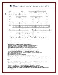 the people lesson 26 worksheet puzzles federalism and state