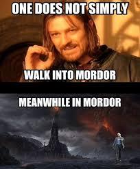 Leonardo Dicaprio Walking Meme - strutting leo mordor pre holiday flood it s raining memes horn