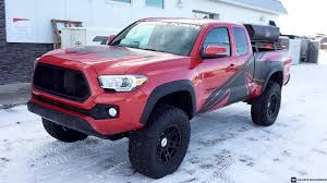toyota lifted lifted 2016 toyota tacoma on 35x12 50r17 tires youtube