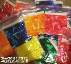 crayons u0026 cuties in kindergarten hair gel writing practice bags