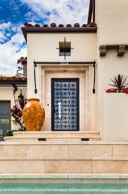 Spanish Style Sconces Spanish Awning Ideas Entry Mediterranean With Santa Barbara
