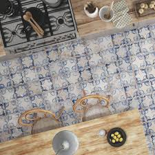 vecchio floreale indigo tiles walls and floors industrial