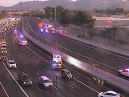 loop 101 reopens in both directions near shea after deadly crash