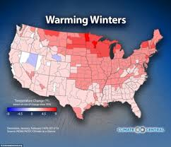 North America Temperature Map by Maps Reveal How Global Warming Will Affect Winter Temperatures