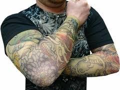 fake tattoos sleeves sleeve tattoo slip on fake tattoo sleeves