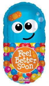 24 sp get well pill shape balloons wholesale balloons helium