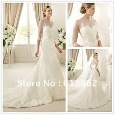 lace 3 4 sleeve wedding dress gorgeous mermaid lace 3 4 sleeve wedding dress in