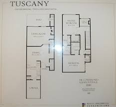 U Condo Floor Plan by Milano Terrace Condos For Sale