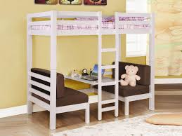 Iron Bunk Bed Designs Furniture Casual Attic Bedroom Furniture Design With Black Iron