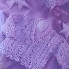 uk eu seller vintage pdf baby knitting instructions hoodie jacket