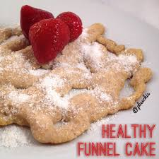 healthy funnel cake the coconut diaries