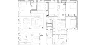 New York Apartment Floor Plan by Res4 Resolution 4 Architecture West End Avenue Apartment