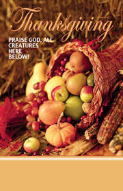 stock thanksgiving church bulletins