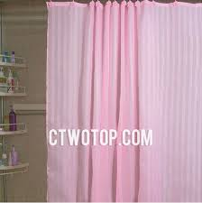 pink stripe and flower hooks beautiful discount shower curtains