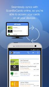 Best App To Store Business Cards Scanbizcards Lite Scan Card Android Apps On Google Play