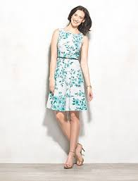 Dress Barn Collection Dress Barn Signature Darby Floral Belted Dress Dresses